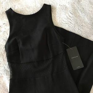 NWT Zara Trafaluc Black Bodycon Dress